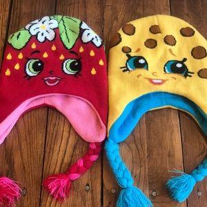 Shopkins hats kookie cookie strawberry girls